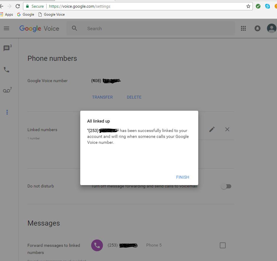 Setup Simring (Google) | Jolly Roger Telephone